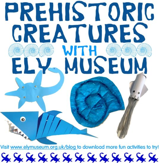 #MuseumFromHome: Prehistoric Creatures