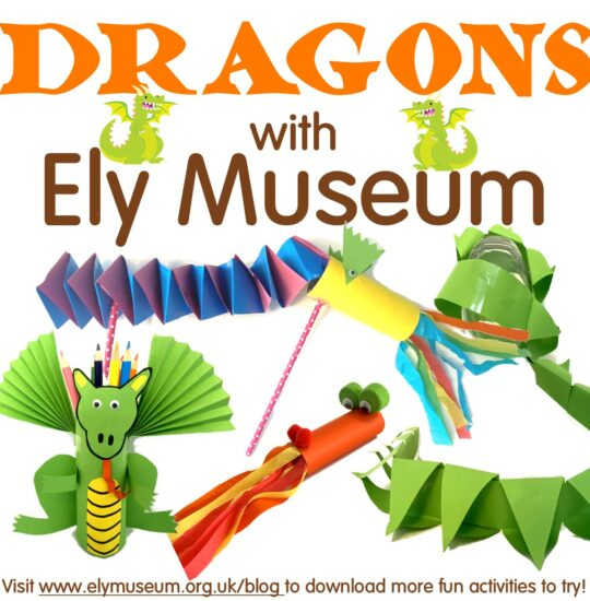 #MuseumFromHome: Dragons
