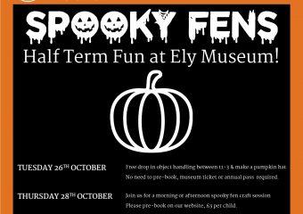 October Half-Term: Spooky Fens Craft Day