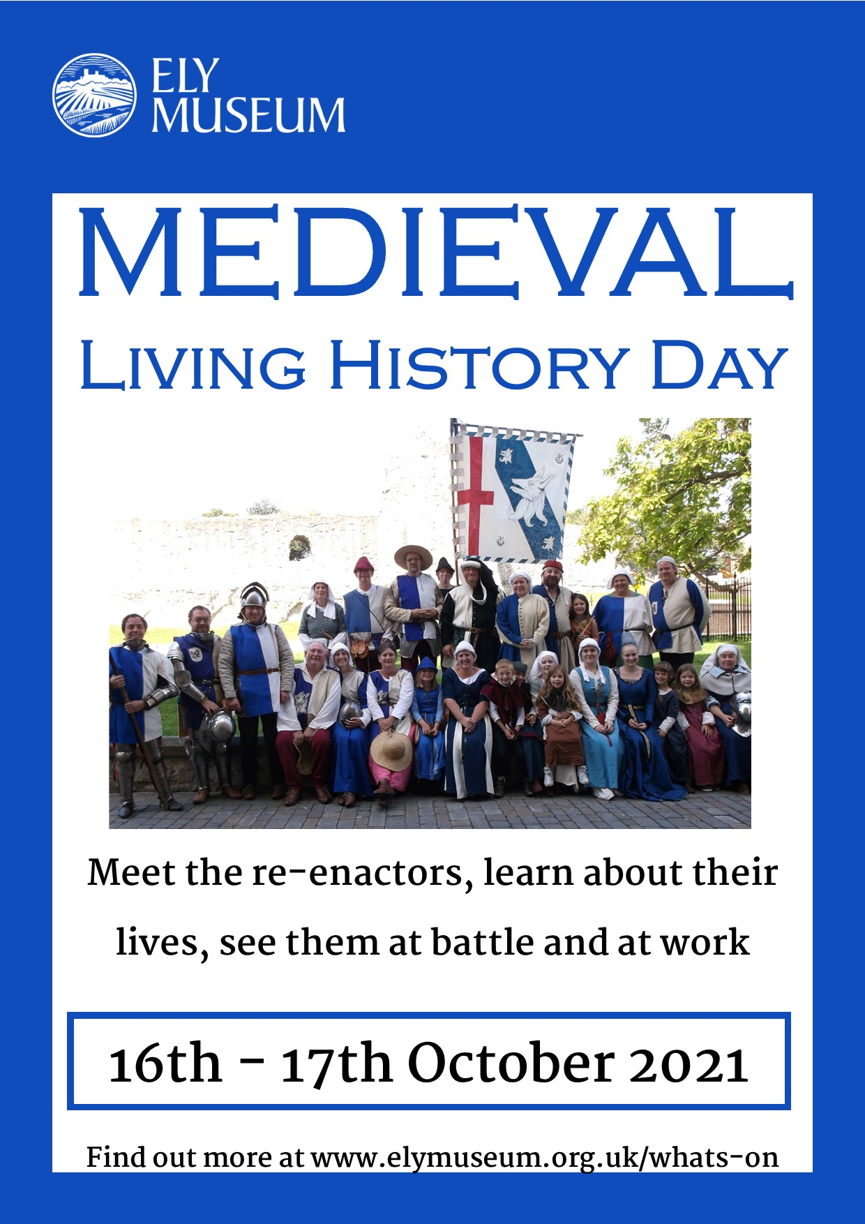 Medieval Living History Day at Ely Museum